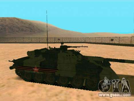 T-80U for GTA San Andreas back left view
