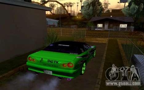 DGTK Elegy v1 for GTA San Andreas left view