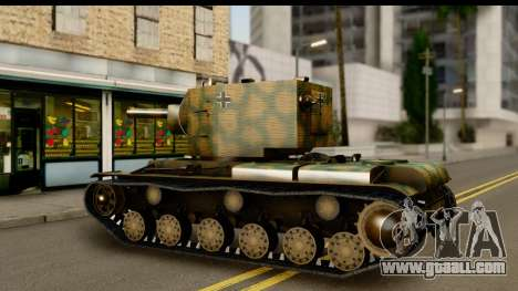 KV-2 German Captured for GTA San Andreas right view