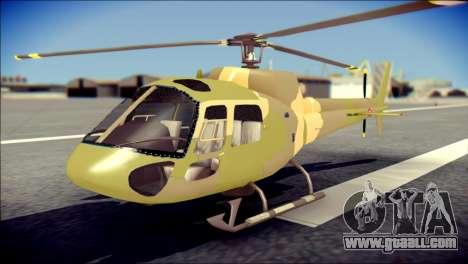 Esquilo 350 Fuerza Aerea Paraguaya for GTA San Andreas