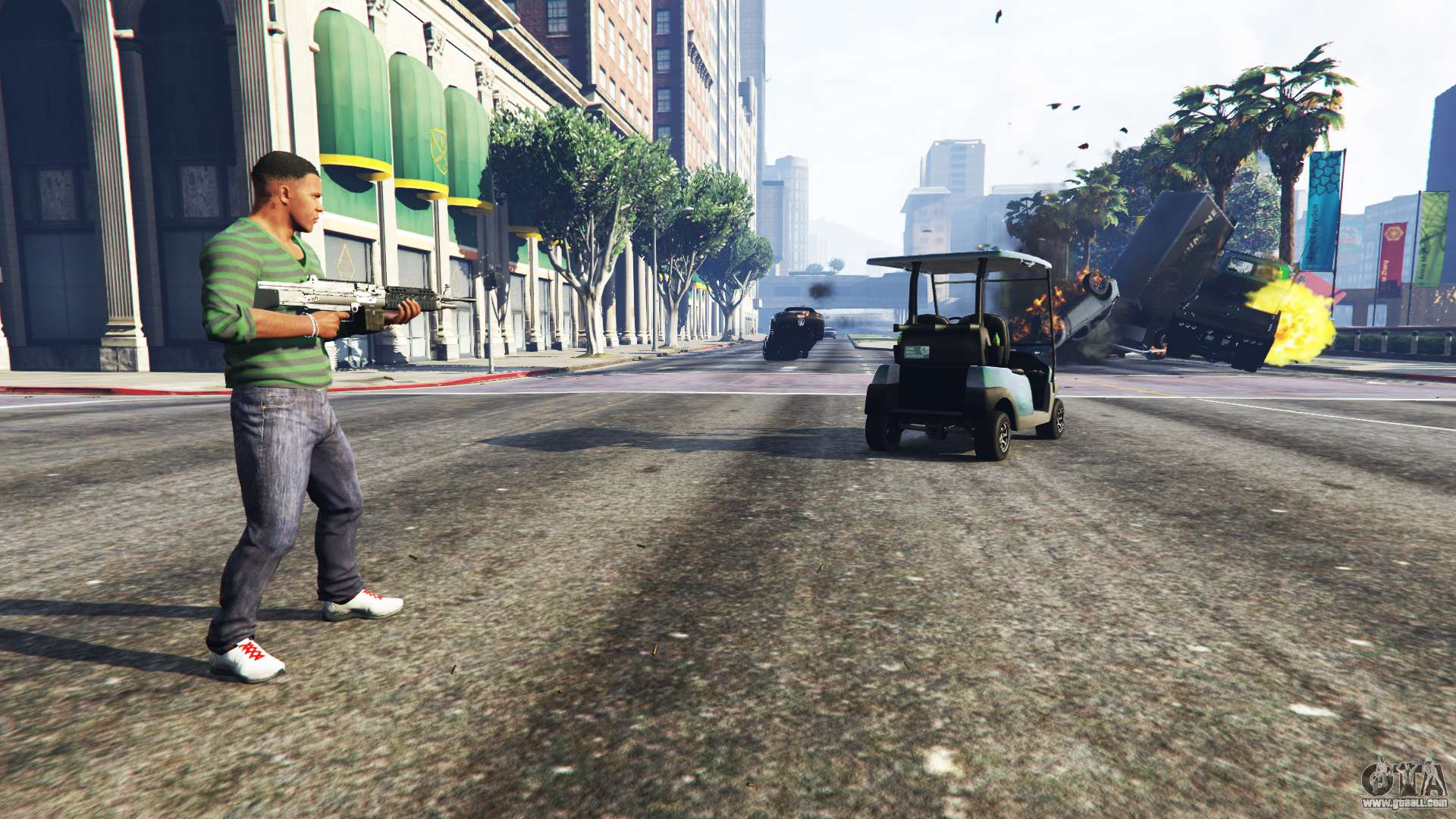 Old Fashioned Cars >> Vehicle Cannon for GTA 5