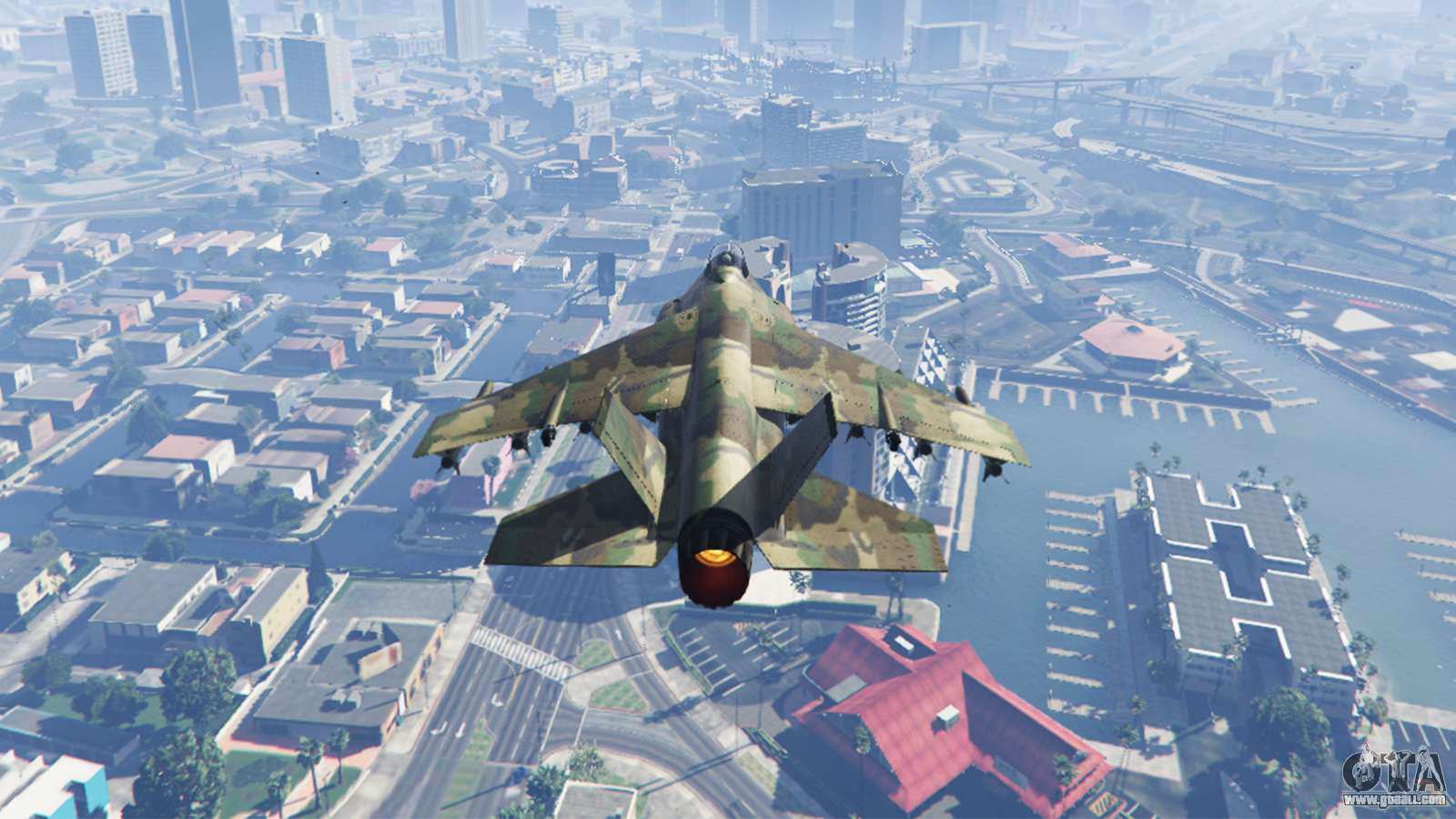 How to fly the hydra gta 5