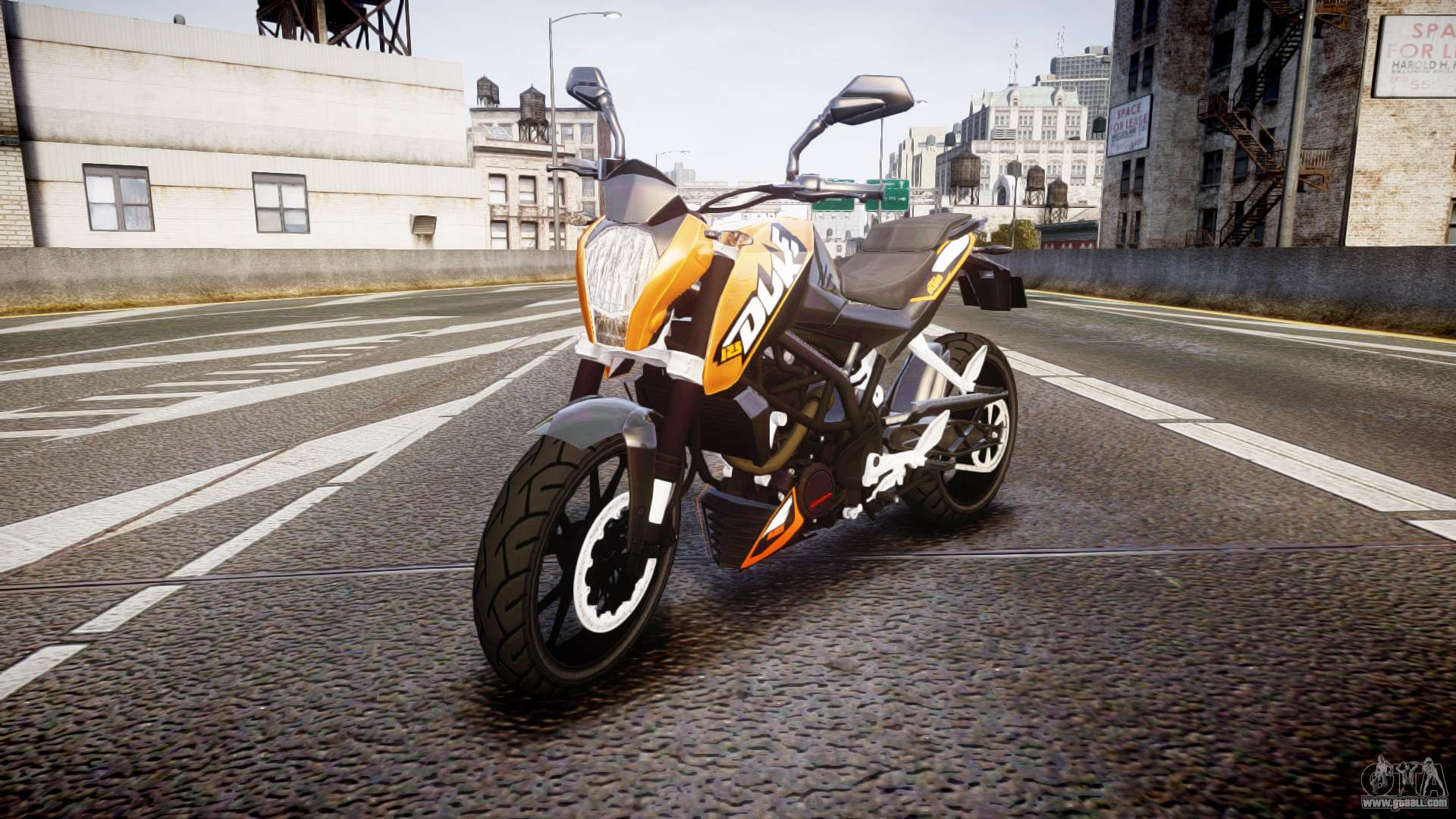 Ktm motorcycle mods with installer for GTA 4