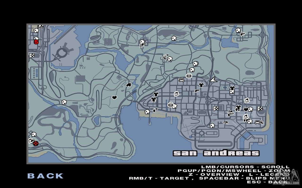 GTA 5 Map Mod v1 3 for GTA San Andreas