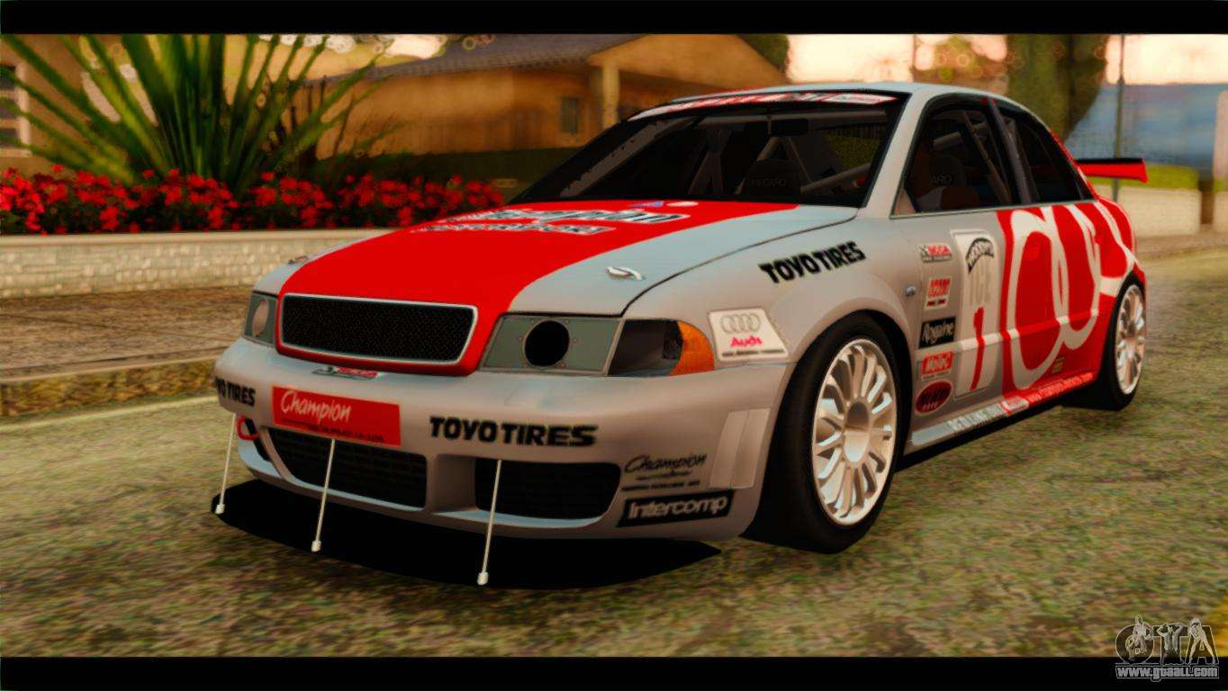 audi s4 b5 2002 champion racing for gta san andreas. Black Bedroom Furniture Sets. Home Design Ideas