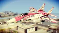 MIG-29 Shrine Maiden Hiragi for GTA San Andreas