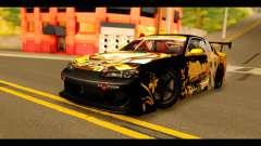 Nissan Silvia S15 Kagamine Rin Itasha for GTA San Andreas