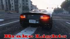 Brake lights for GTA 5