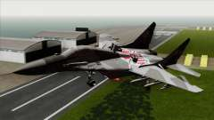 MIG-29A Polish Air Force Kosynierzy for GTA San Andreas