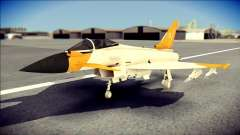 EF-2000 Typhoon  Federal Erusea Air Force for GTA San Andreas
