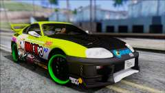 Toyota Supra 1999 Tina Sprout Itasha for GTA San Andreas