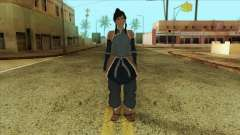 Korra Skin from The Legend Of Korra for GTA San Andreas