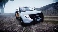Ford Explorer Police Interceptor [ELS] marked for GTA 4