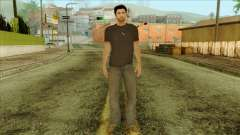 Young Alex Shepherd Skin without Flashlight for GTA San Andreas