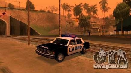 Beta LVPD Police for GTA San Andreas