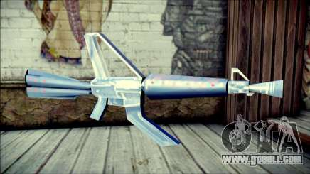 Laser Gun for GTA San Andreas