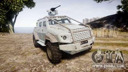 GTA V HVY Insurgent Pick-Up for GTA 4