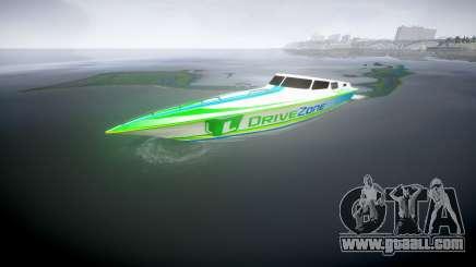 Motor boat for GTA 4