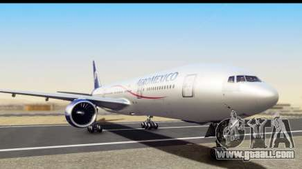 Boeing 777-200ER AeroMexico for GTA San Andreas