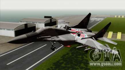 MIG-29A Polish Air Force Kosynierzy for GTA San Andreas