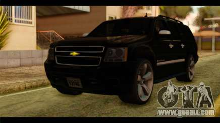 Chevrolet Suburban 2010 FBI for GTA San Andreas