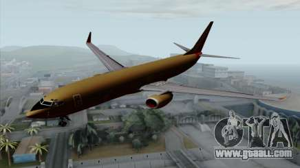 Boeing 737-800 Southwest Gold for GTA San Andreas
