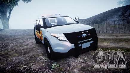 Ford Explorer Police Interceptor [ELS] marked for GTA 4