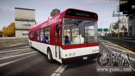 GTA V Brute Bus for GTA 4
