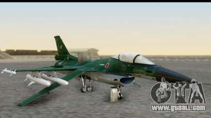 F-2A Zero Dark Green for GTA San Andreas