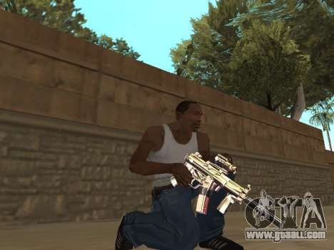 Chameleon Weapon Pack for GTA San Andreas third screenshot