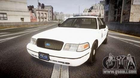 Ford Crown Victoria Metropolitan Police [ELS] for GTA 4