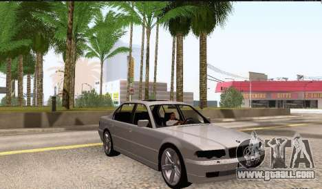 BMW 750iL for GTA San Andreas