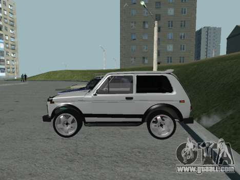VAZ 2121 Niva for GTA San Andreas back left view