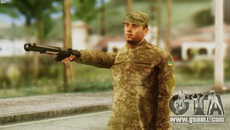 A Member Of The Armed Forces Of Ukraine for GTA San Andreas