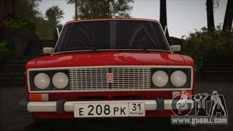 VAZ 2106 MansorY for GTA San Andreas left view