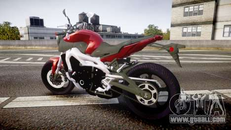 Yamaha MT-09 for GTA 4 left view