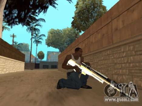 Chameleon Weapon Pack for GTA San Andreas seventh screenshot