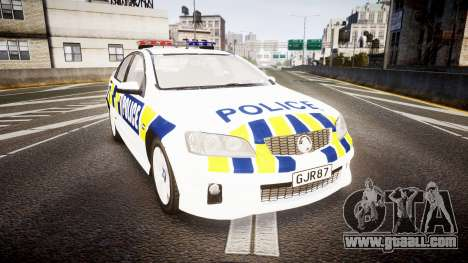 Holden VE Commodore SS Police HWP [ELS] for GTA 4