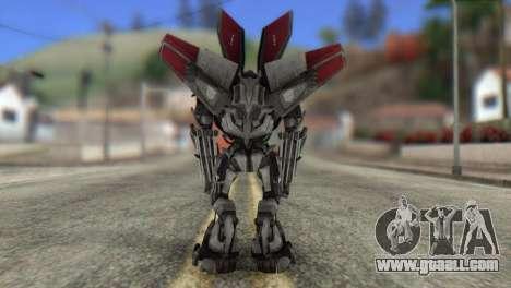 Air Raide Skin from Transformers for GTA San Andreas second screenshot