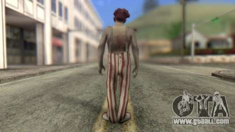 Zombie Clown from Left 4 Dead 2 for GTA San Andreas second screenshot