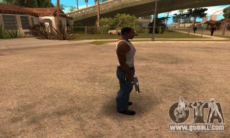Deagle White and Black for GTA San Andreas third screenshot