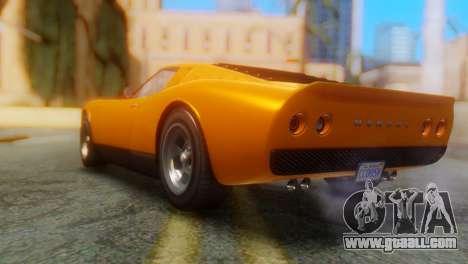 GTA 5 Pegassi Monroe for GTA San Andreas left view