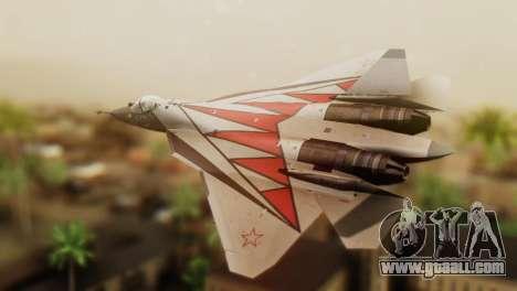 T-50 PAK-FA -Akula- for GTA San Andreas left view
