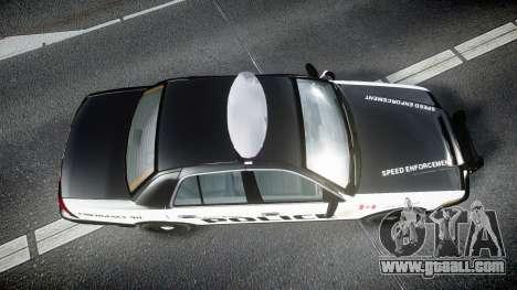 Ford Crown Victoria Alderney Police for GTA 4
