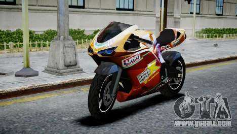 Bike Bati 2 HD Skin 1 for GTA 4