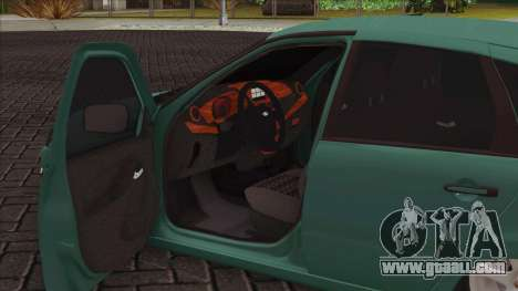 Lada 2118 Kalina 2 for GTA San Andreas inner view
