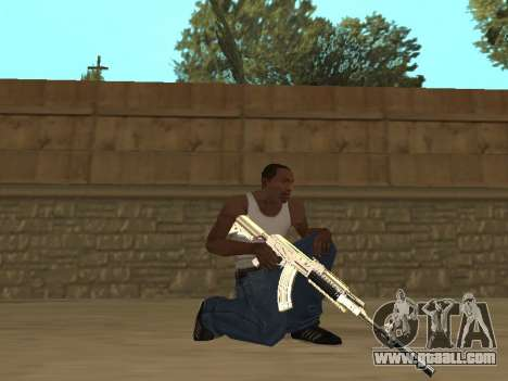 Chameleon Weapon Pack for GTA San Andreas fifth screenshot