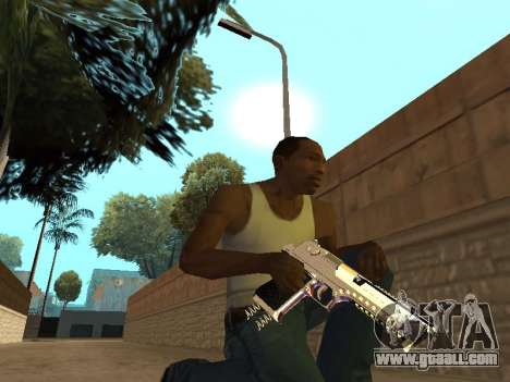Chameleon Weapon Pack for GTA San Andreas sixth screenshot