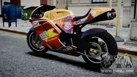 Bike Bati 2 HD Skin 1 for GTA 4 left view