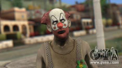 Zombie Clown from Left 4 Dead 2 for GTA San Andreas third screenshot